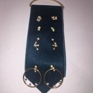 Set of Four Anthropologie Earrings